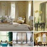 Шторы в гостиную — несколько советов при оформлении окна