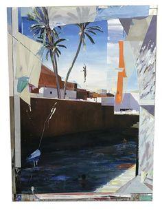 Alfonso Albacete (Spanish, b. Variante, Acrylic on canvas, 200 × 150 cm Architectural Drawings, Spanish, Architecture, Canvas, Painting, Pintura, Art, Arquitetura, Tela