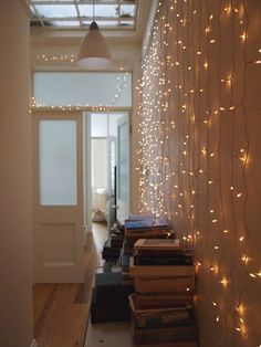 cute sweet 16 lights background hang christmas lights on the wall