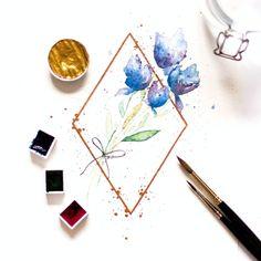 Floral Watercolor, Florals, Floral, Flowers, Watercolor Flowers