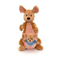 Disney Winnie The Pooh Large 12 Kanga with 4 Roo Soft Plush Doll Toy by Disney *** Be sure to check out this awesome product.