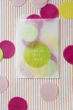 DIY: Giant Confetti Project - Project Wedding - instead of throwing rice, throw confetti!