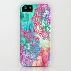 Round+&+Round+the+Rainbow+iPhone+&+iPod+Case+by+Micklyn+-+$35.00