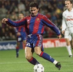 146. Hagi - One of the few footballers to have played for both the Spanish rival clubs Real Madrid and Barcelona. Barca: 1994-1996