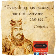 Be inspired by Confucius and download the latest #Inspirational posters, screensavers and #wallpaper from Tandoor Chef.