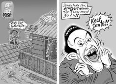 Mice Cartoon, Kompas 26 Januari 2014: Ironi.
