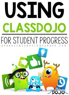 ClassDojo is not only a great tool to communicate behavior and help with classroom management, but it can also be used to share student progress! Student Behavior, Classroom Behavior, Future Classroom, School Classroom, Classroom Ideas, Classroom Activities, Classroom Discipline, Behavior Plans, Classroom Tools