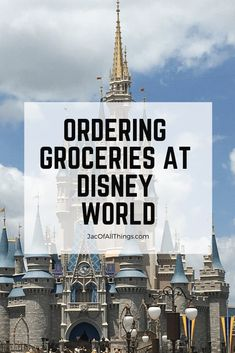 How to Order Groceries to Your Room at Disney World - Disney Travel tips - Everything you need to know about ordering groceries to your hotel room at Disney World. A comparis - Voyage Disney World, Disney World Secrets, Disney World Hotels, Disney World Food, Disney World Florida, Disney World Planning, Walt Disney World Vacations, Disney World Tips And Tricks, Disney Tips