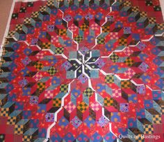 Wheel of Fortune Quilt   Flickr - Photo Sharing!