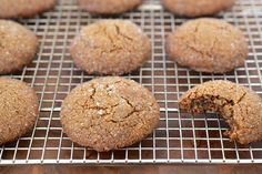 Molasses Spice Cookie Recipe (Gluten-Free and Vegan!)