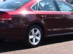 2013 Volkswagen Passat, Lunde's Peoria Volkswagen- http://www.peoriavw.com/ you will love this OPERA RED METALLIC 2013 Volkswagen Passat, equipped with a 5 Cyl. engine  and an automatic transmission with  only 12 miles. enjoy an exceptional 31 miles to the gallon on this great car with features like navigation system, alloy wheels, leatherette u...
