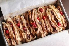 Always Order Dessert: Cranberry Chocolate Chip Pull-Apart Bread -- Food Blog and Recipes