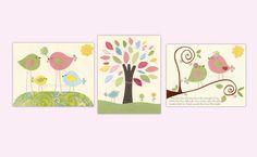 Baby girl room nursery wall art nursery Art Love by DesignByMaya, $50.00