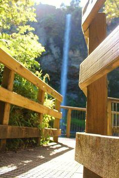 Bridal Veil Falls in Raglan, Waikato