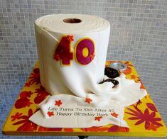 cake ideas for 40th birthday for men | 40th-toilet-paper-shit-birthday-cake.jpg