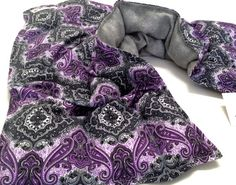 XXL Flax HEATING Pad- Shoulder Neck wrap shrug - Microwavable -FLAX-Christmas gift ideas for her and him - neck/back/lumbar/ pain relief