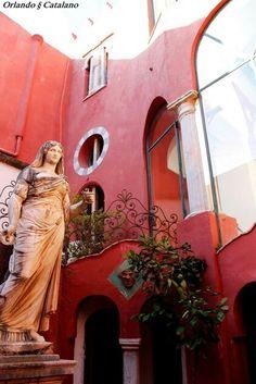 Anacapri - Casa Rossa Positano, Capri Island, Amalfi Coast, Beautiful Islands, Landscapes, Italia, Sorrento, Holiday Travel, Positano Italy