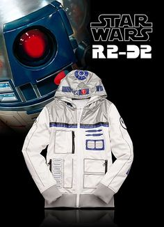 The limited edition R2-D2 hoodie from #StarWars & #Ecko