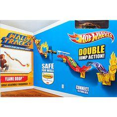 Hot Wheels Flame Jump Wall Track.... AWESOME!!!