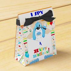 Dog Detective Happy Birthday Scavenger Hunt Party Favor Box - birthday gifts party celebration custom gift ideas diy