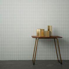Hexagon Brass Pot - Ferm Living