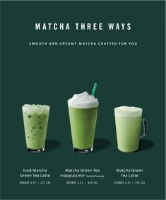 The Starbucks voice is evolving to unite our brand and meet our audience's needs. Starbucks Rewards, Starbucks Menu, Starbucks Recipes, Food Graphic Design, Food Menu Design, Food Poster Design, Sumo Natural, Starbucks Advertising, Matcha Drink