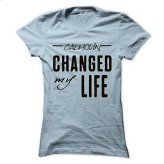 CALHOUN ChangeSP>My Life Cool Name Shirt !!! - #hoodies/sweatshirts #hoodie creepypasta. MORE INFO => https://www.sunfrog.com/Holidays/CALHOUN-ChangeSPgtMy-Life-Cool-Name-Shirt-.html?68278