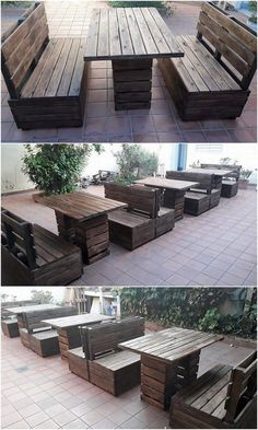 This is the whole end of the DIY awesome garden furniture set up of wood pallet. It is an appealing and so fantastic looking furniture set to incorporate either in your restaurant beauty or for the home outdoor options as well. Grab this creation tutorial and see how beautiful it will look for your house!