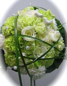 Pyöreä valko-vihreä