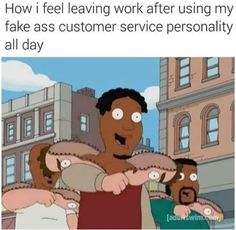 If you're also working in a customer service field, then this is the best memes collection for you. Check 20 hilarious memes for anyone who works in customer service. Funny Memes About Work, Work Jokes, Funny Puns, Funny Shit, Funny Stuff, Funny Work, Work Funnies, Funny Things, Funny Humor