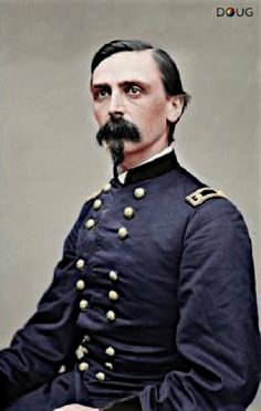 Civil War-Major General Adelbert Ames - Union Army, 2nd.Div. XXIV Corps - 1865