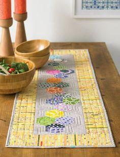 Cute table runner idea!