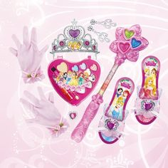 Disney kids funny cosmetic toys Be a Princess cosmetics make up