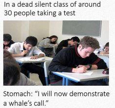 Dead Silent Class, Taking A Test
