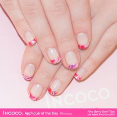 Incoco french manicure white cloud (white tips only)