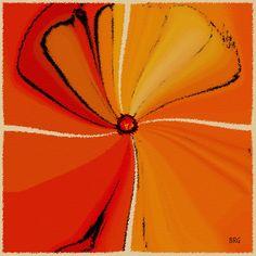 Title  Flower Arrangement Artist  Ben and Raisa Gertsberg Medium Digital Art - Digital Painting - Art Print