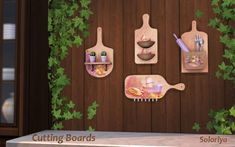 Cutting Boards at Soloriya • Sims 4 Updates