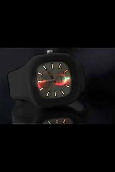 Clocker Metallic LED Watch