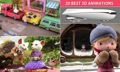 20 Best 3D Animated Short Films and TV Commercial Videos. Read full article: http://webneel.com/best-3d-animated-tv-commercial | more http://webneel.com/animation | Follow us www.pinterest.com/webneel