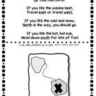 Freebie. This is a fun song to help teach cardinal directions and mapping to young students.