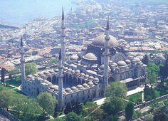 Istanbul Suleymaniye Camii Mimar Sinan Eseri