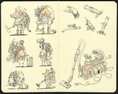 Mattias Inks: Portable dust removal units