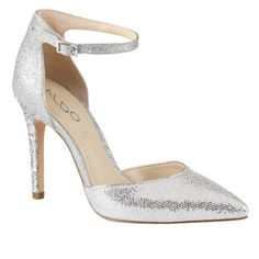 ANKLAM - women's high heels shoes for sale at ALDO Shoes. #silver #prom #pink