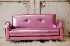 Cotton Candy Retro Couch, not sure where I would put it but I want it.