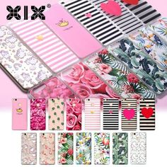 For Huawei Lite Case Pink Rose Cover for Huawei Lite Case 2017 Original for Lite Pro Plus Mate 10 Lite Case P8 Lite, Hard Phone Cases, Pink, Wraps, The Originals, Cover, Floral, Pattern, Phone Accessories