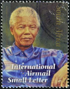 Stamp: Happy Birthday to your 90 years Madiba (South Africa) (Politique et gouvernement) Mi:ZA