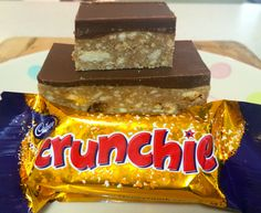Chocolate Crunchie Slice