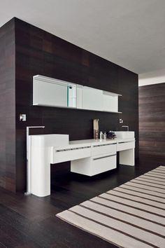 ... bagno lavabi curvi in mineralmarmo contenitori estraibili mobili bagno