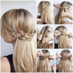 Hoy os vamos a presentar 3 peinados sencillos para fiesta que seguro te ayudarán a ser la chica más linda de la