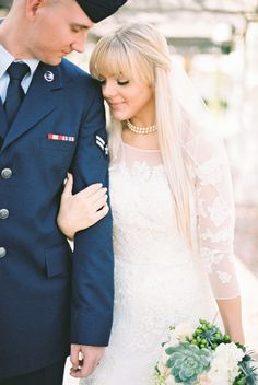 Pre-Wedding Photoshoot | Romantic Military Wedding | Kati Rosado Photography | Bridal Musings Wedding Blog